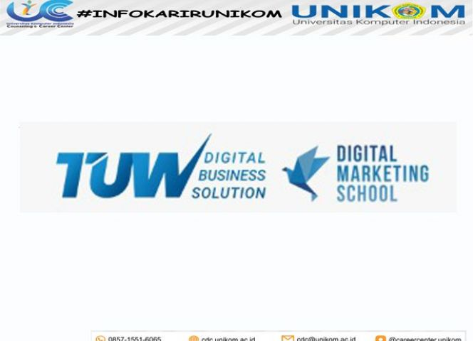 INFO MAGANG TUW DIGITAL BUSNIESS SOLUTIONS